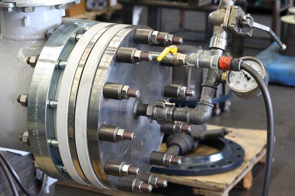 معرفی روشهای مختلف تست هیدرواستاتیک مبدلهای حرارتی